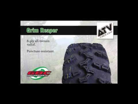 GBC Grim Reaper 26-11R14 8 Ply ATV Tire AE142611GR