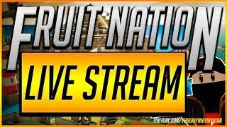 🔴FRUIT NATION ROBLOX LIVE STREAM!🔴