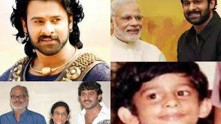 তেলেগু অভিনেতা প্রভাস এর জীবন কাহিনী   Biography of Tollywood Actor Prabhas 2017 !!