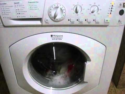 hotpoint ariston eco8l109 main wash youtube. Black Bedroom Furniture Sets. Home Design Ideas