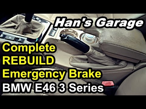 E46 Emergency Brake REBUILD Complete
