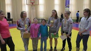 Поздравление девушек занявших 1 место на первенстве ПФО по вольной борьбе.
