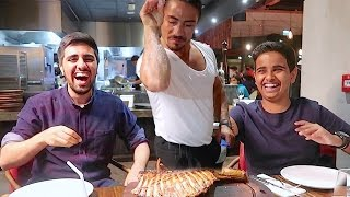 WORLD\'S Famous NUSRET Salt Bae Experience In DUBAI !!!
