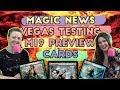 M19 Preview Cards + GP Vegas Testing Modern + Dominaria Sealed Tips | Magic the Gathering