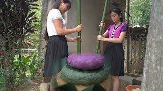 Thôn Nữ Làm Món Bánh Giầy Nhân Ngày Giỗ Tổ Mùng 10-3 Và Cái Kết AE Tam Mao TV Cười Không Nhặt Mồm