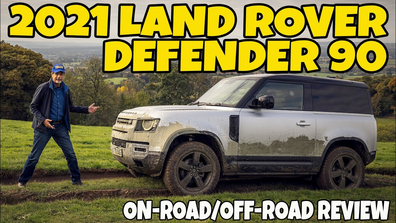2021 Land Rover Defender 90 On-Road & Off-Road Review ...