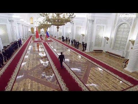 LIVE: Xi Jinping, Vladimir Putin meet in Moscow