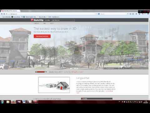 Uputstvo za instalaciju Google Sketchup Make 2014