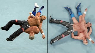 WWE 2K19 vs SVR 2009 - 20 Finisher Comparisons! (Which are better?)