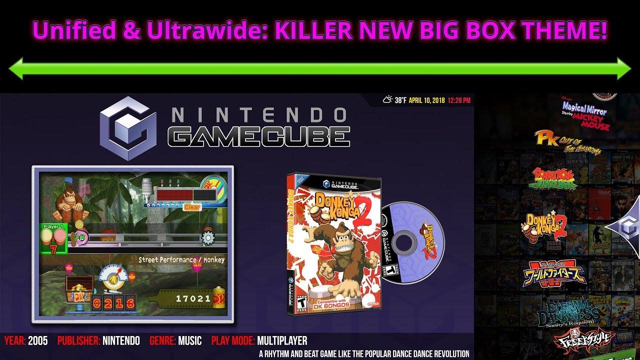 Unified & Ultrawide - Big Box Custom Themes - LaunchBox