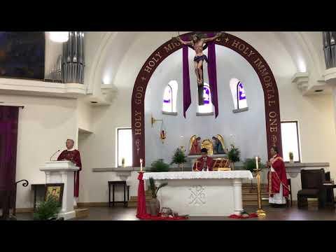 Palm Sunday Mass at Our Lady of Joy