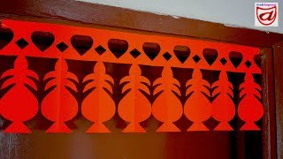 Door Hanging Craft Ideas | Paper Craft for Home Decoration | No Glue Craft