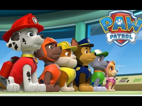 PAW PATROL NICK JUNIOR GAMES - PUPS SAVE THE DAY