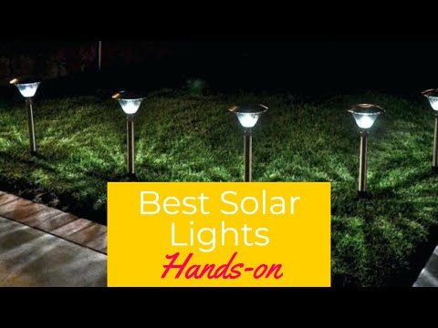 Best Solar Lights in 2020 – Landscape Lighting Lamps to Keep to Lights on!