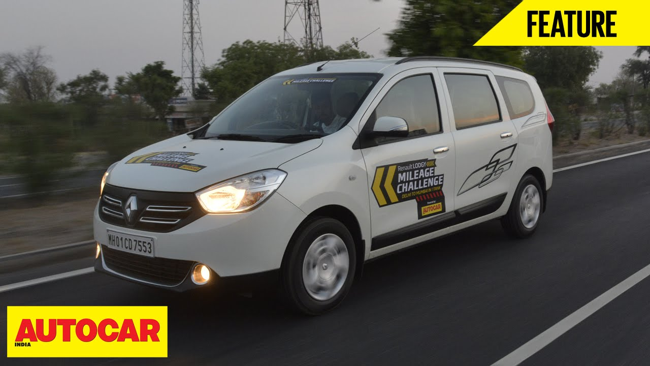 Renault Lodgy Mileage Challenge | Feature | Autocar India
