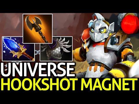 Universe [Clockwerk] Auto Hookshot Magnet 7.15 Dota 2