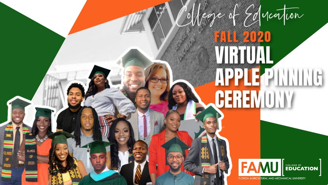 FAMU College of Education Apple Pinning Ceremony | FAMU Fall 2020 | FAMU Rattlers