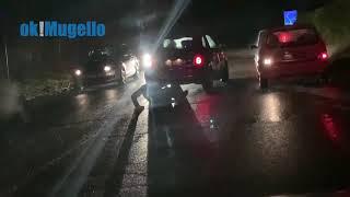 Strade ghiacciate in Mugello. Automobilisti bloccati in attesa degli spargisale