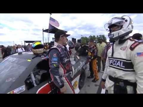 Ty Dillon and Regan Smith FIGHT at Watkins-Glen|| 2015 NASCAR XFinity Series