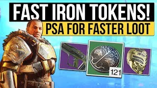 Destiny 2 | FAST IRON BANNER TOKENS! - Easiest Way to Get Iron Banner Tokens (Multiple Characters)