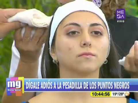 Angelica Contreras - Estética - Limpieza de Puntos Negros - Mucho Gusto www.mega.cl