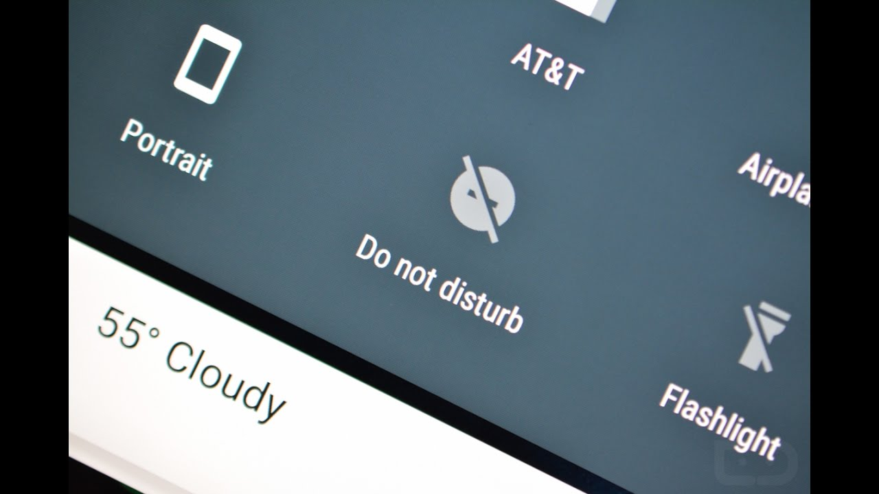How To Disable Do Not Disturb Mode Android Youtube