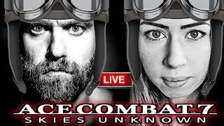 🔴 Ace Combat 7 Skies Unknown Live Gameplay  Ps4