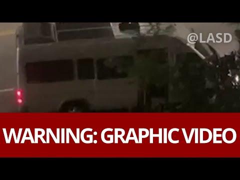 Graphic: Woman screams for help in van last seen in Santa Clarita area