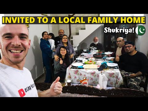 We were invited by a LOCAL PAKISTANI FAMILY for a PAKISTANI FOOD FEAST!- Pakistan food & travel vlog