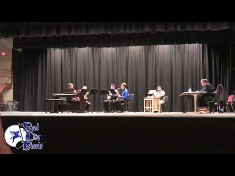 "Polar Vortex, Mvt. 1 ""Snowfall"" - Chris Hass (Beal City High School Saxophone Quartet)"