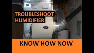 How to Troubleshoot a Whole House Humidifier
