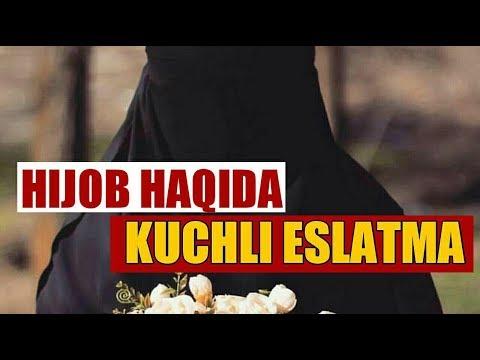 Hijob Haqida Kuchli Eslatma - Ustoz Abu Muoviya