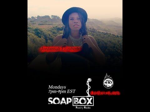 SoapBOX Poetry Radio Ep11 | Jordannah Elizabeth