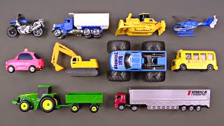 Cars Trucks Street Vehicles for Kids - Fan Favorite Hot Wheels Tomica トミカ Tayo 타요 - Organic Learning