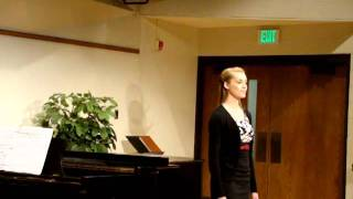 "Jenna Davis Sings ""Les Filles De Cadix"" (The Maids of Cadiz)"