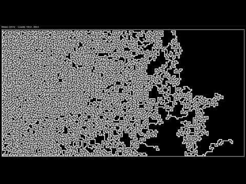'Explorer 4.0b' Ultra-HD Maze generating algorithm solved with A* Pathfinder algorithm.