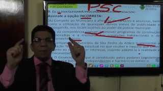 VÍDEO AULAS LEI ORGÂNICA SÃO PEDRO ALDEIA QUESTÕES ANTERIORES INCP