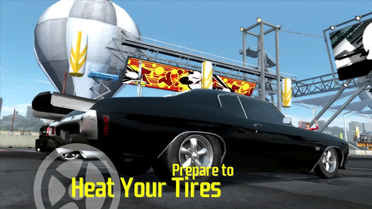 Need For Speed: ProStreet] Chevelle SS 454 7 8s 1/4 mile - YouTube