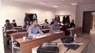 Marmara Üniversitesi - Lojistik & Tedarik Zinciri Yönetimi Sertifika Programı