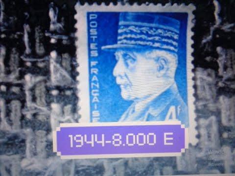 Download طوابع بريدية فرنسية ثمينة - wertvolle frankreich briefmarken