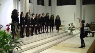 """""""Hallelujah"""" (L. Cohen) Coro Giovanile """"With Us"""" diretto da Camilla Di Lorenzo"""