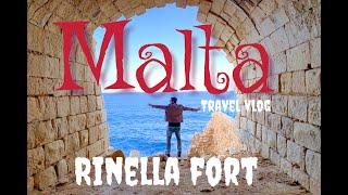 Malta travel vlog, fort Rinella