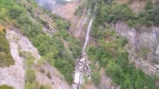 waterval Raron, Zwitserland