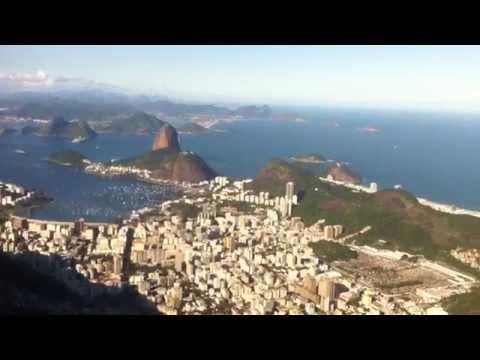 Panoramic views of Rio de Janeiro