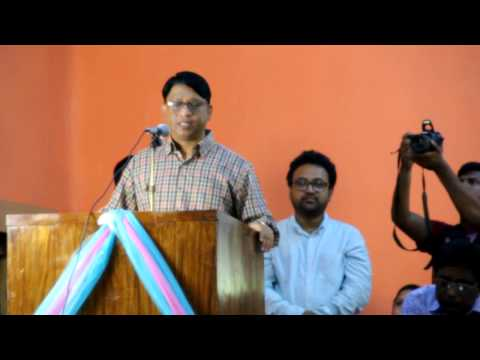 Whip Iqbalur Rahim MP Speech Freelancers of Dinajpur