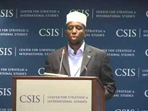 Statesmen's Forum: Sheikh Sharif Sheikh Ahmed, President of Somalia's Transitional Federal...