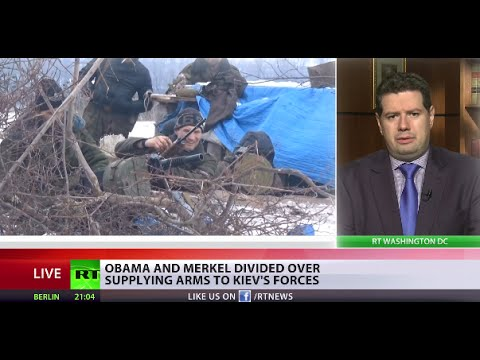 'US plan to send weapons may undermine Ukraine peace talks'