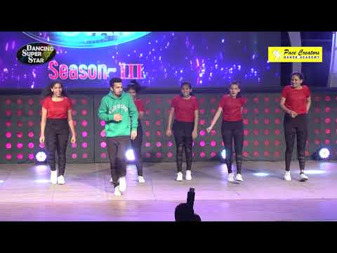 Piyush Bhagat Performing With  Pace Creators Dance Academy Girls