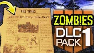 BLACK OPS 4 ZOMBIES DLC 1 TEASER: SECRET NEWSPAPER EASTER EGG EXPLAINED!