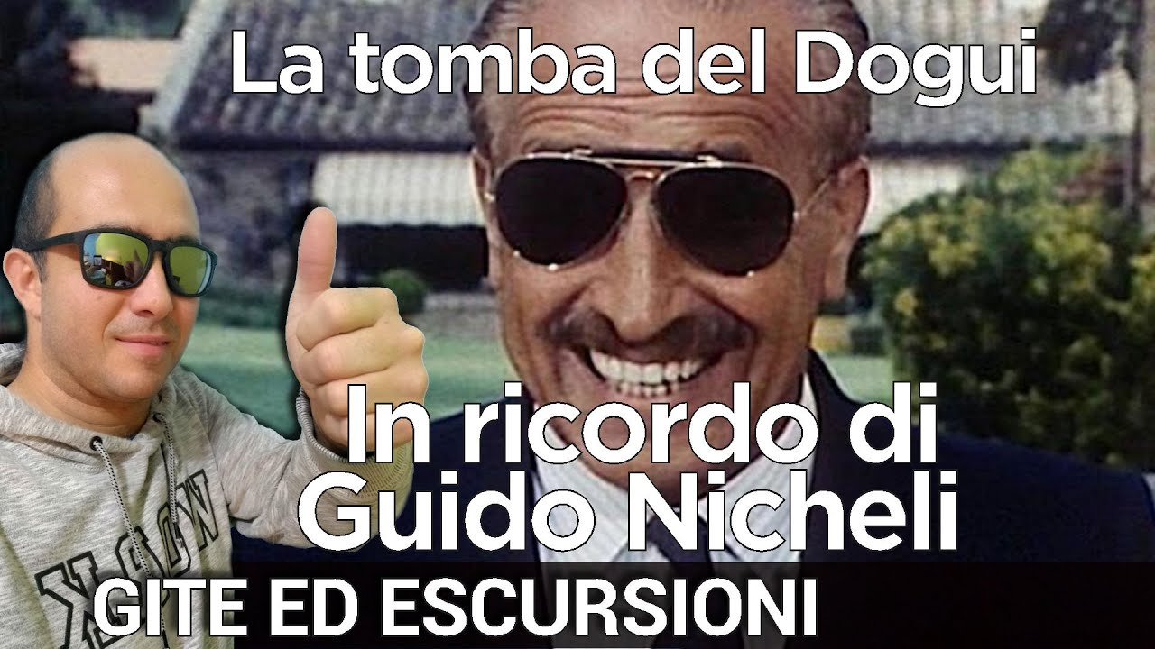 In ricordo di Guido Nicheli - La tomba del Dogui